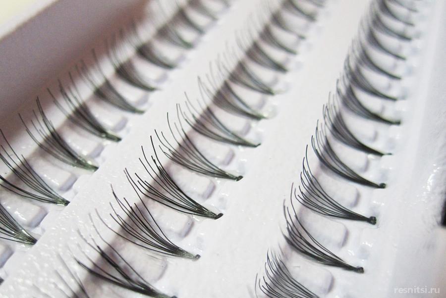 Плюсы и минусы пучкового наращивания ресниц